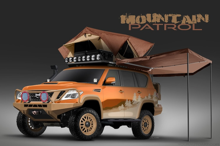 "Nissan Planning a Crowd-Sourced, Overland-Themed Armada ""Mountain Patrol"""