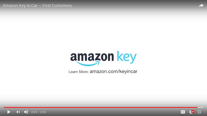 Amazon Key In Car Logo