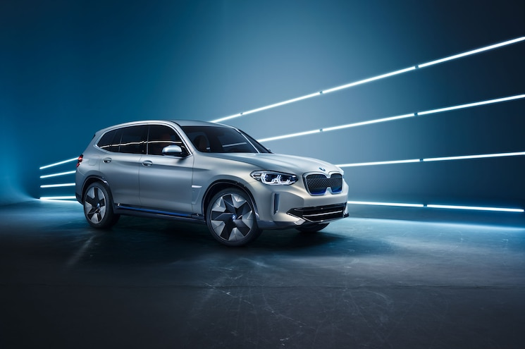 BMW Concept iX3 All-Electric SUV Revealed in Beijing