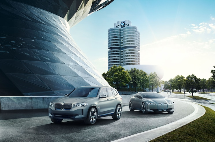 2018 Bmw Concept Ix3 And I Vision Dynamics