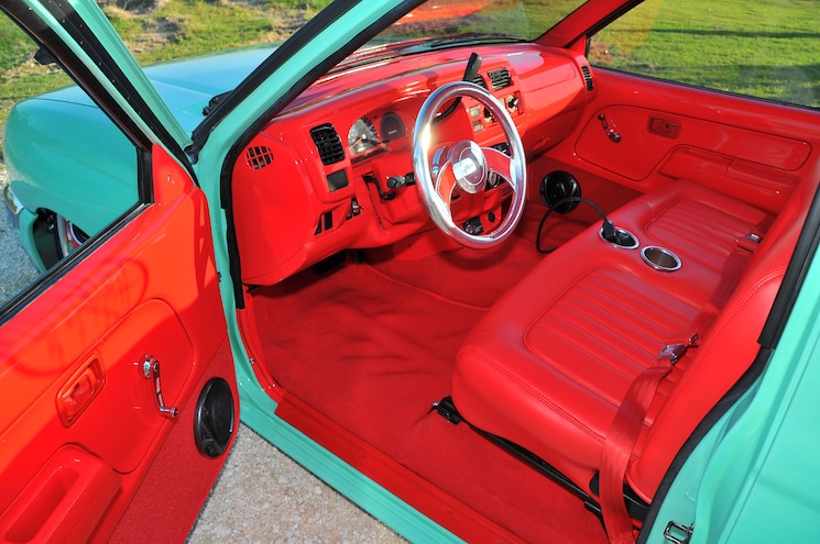 1998 Nissan Frontier Interior