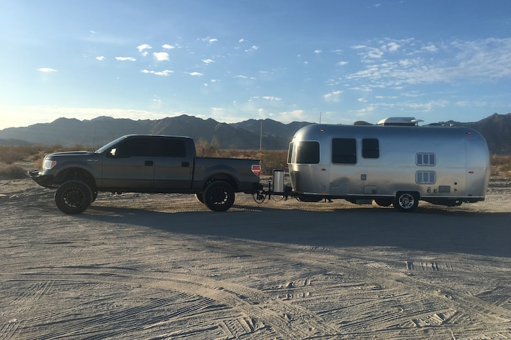 Camping Out in an Airstream, Country Music–Style