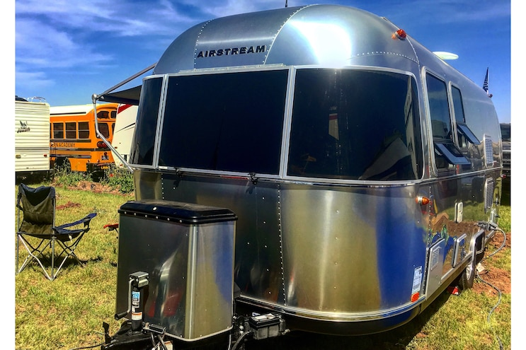 Camping Out In An Airstream