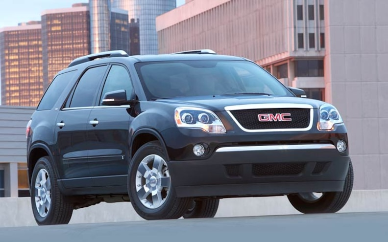 Gmc Acadia Towing Capacity >> 2010 Gmc Acadia Tech Specs
