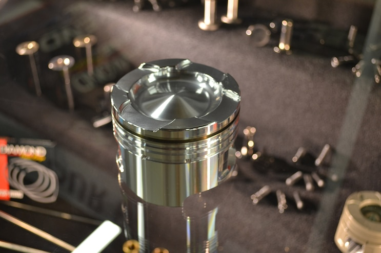 003 Competition Diesel Engines Pistons