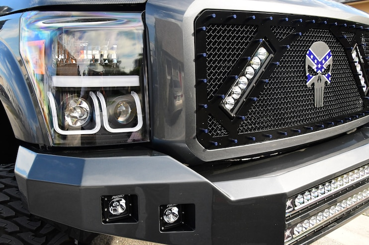 High Performance 2012 F250 Grille