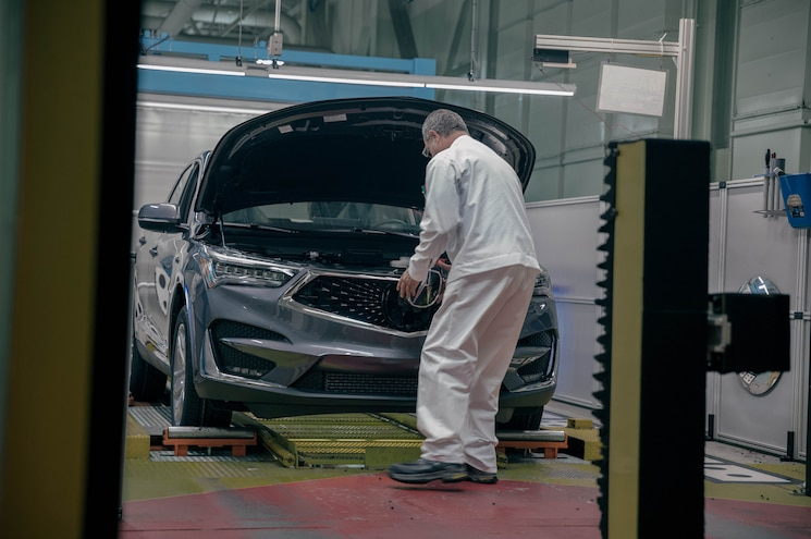 2019 Acura Rdx East Liberty Ohio Plant Final Assembly