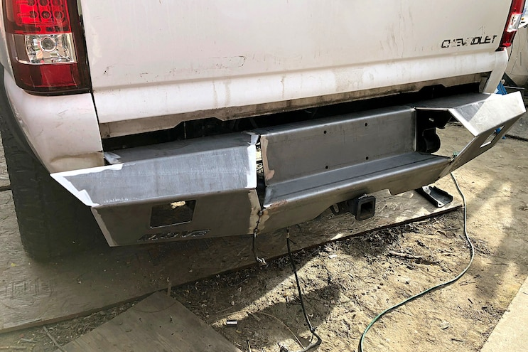 MOVE's Custom DIY Truck Bumpers