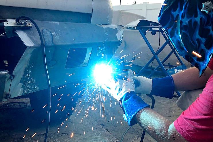 MOVEs Custom DIY Truck Bumpers Welding