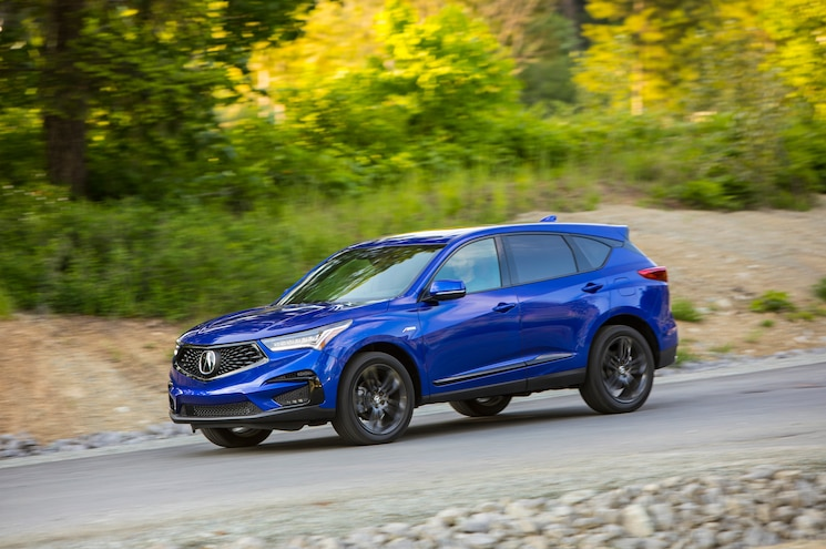 2019 Acura Rdx A Spec In Motion Exterior Front Quarter 01