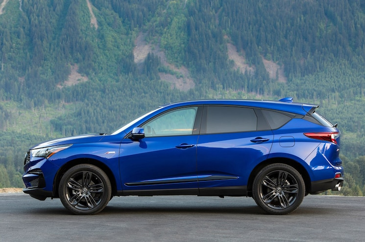 2019 Acura Rdx Side