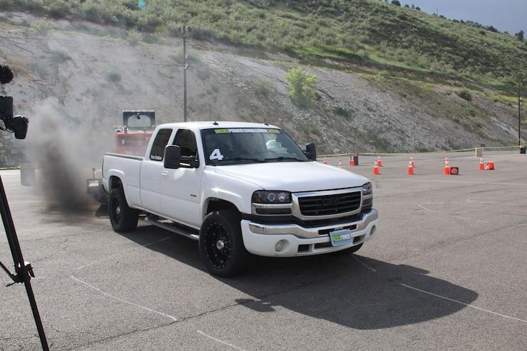 117 Diesel Power Challenge 2018 Cone Course