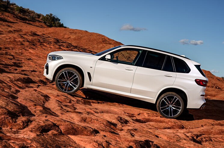2019 Bmw X5 Exterior Side Profile Off Road