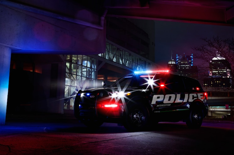 Ford Introduces Pursuit-Rated Police Interceptor Utility Hybrid