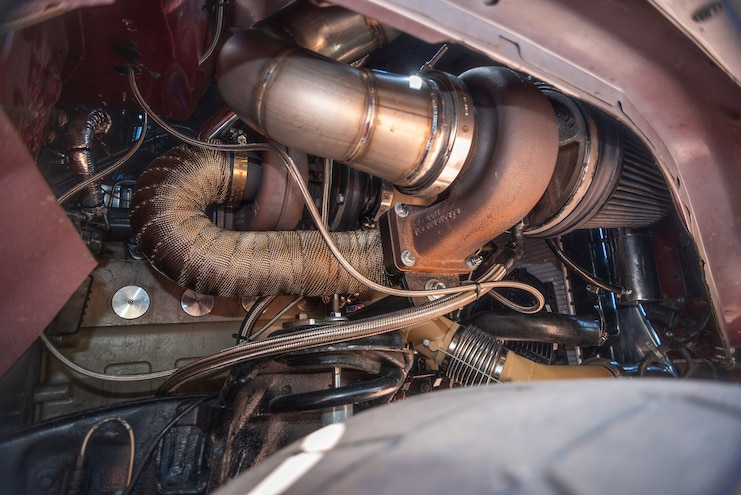 DPC 2018 Competitor Andrew Morrison BorgWarner S480 Turbocharger