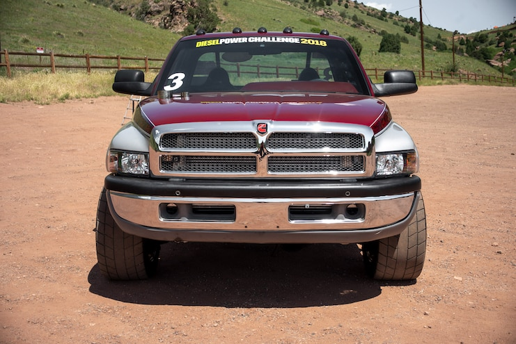 DPC 2018 Competitor Andrew Morrison Ram Front View