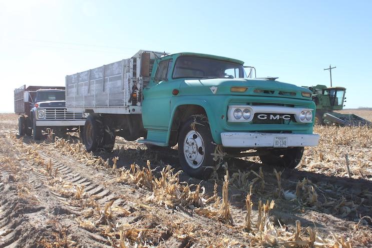Vintage Harvest Trucks Still Getting the Job Done!