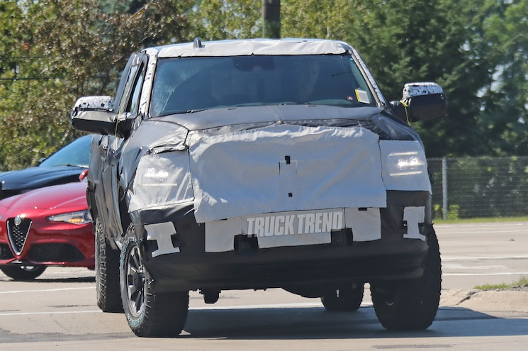 2020 Ram 2500 Power Wagon Exterior Front Quarter 01