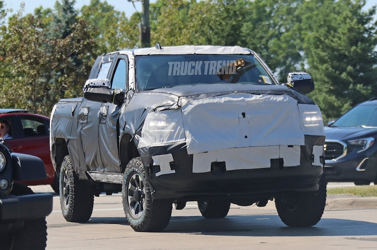 SPIED: 2020 Ram 2500 Power Wagon