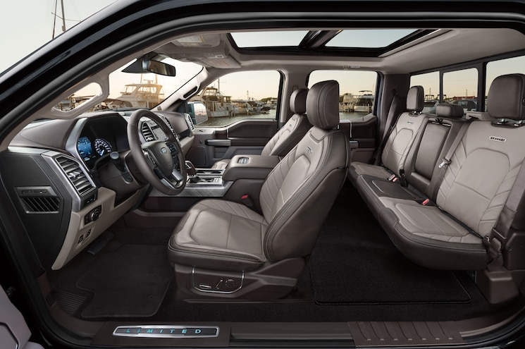 2019 Ford F 150 Limited Interior Cutaway