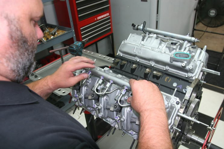 Duramax L5P Reassembly 043