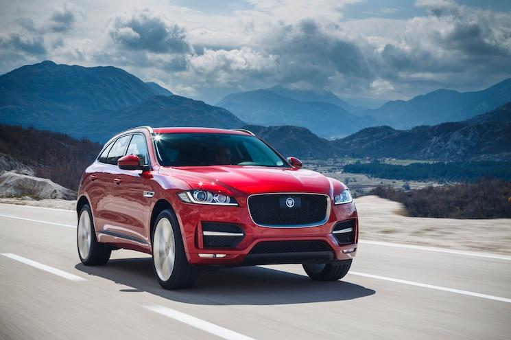 Jaguar Updates F-Pace SUV Slightly for 2019