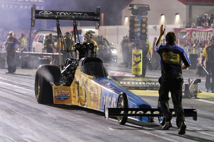 Shop Class Inside NHRA Top Fuel Pit Crew Staging