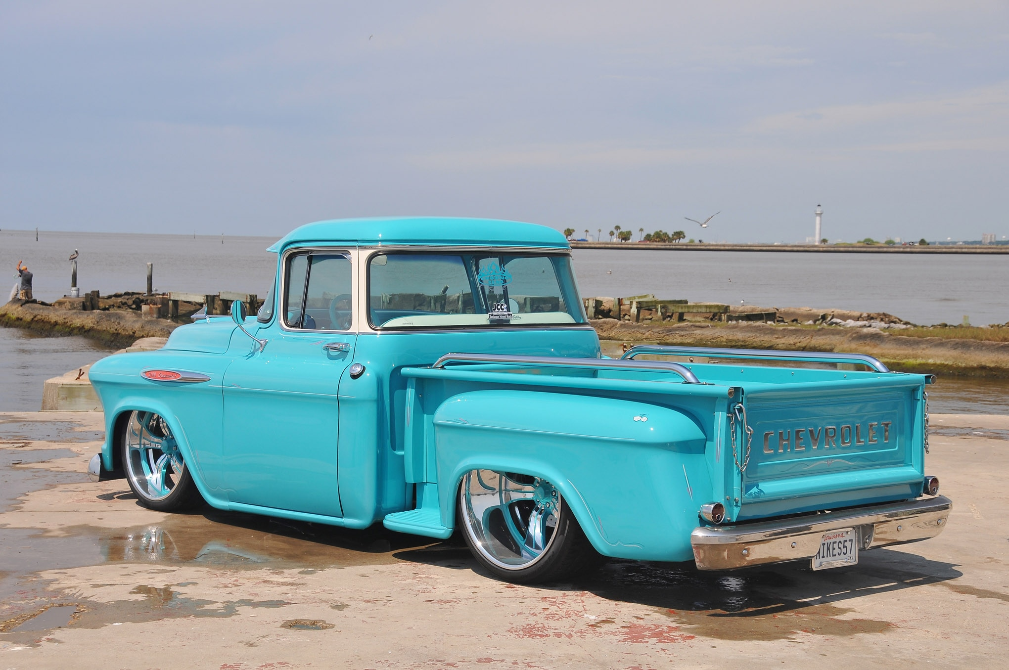 1957 Chevrolet 3100 The Blueprint