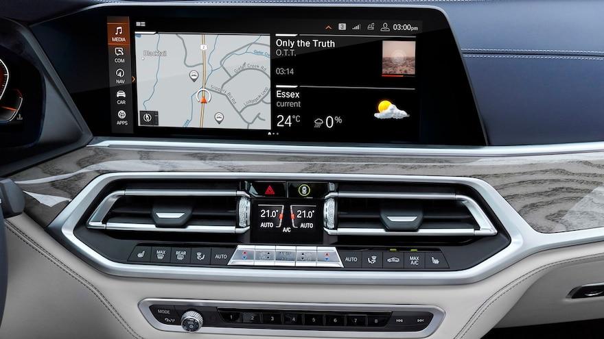2019 BMW X7 Infotainment