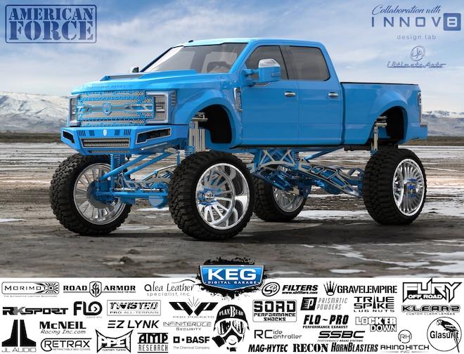 KEG 16 Tim Dunaway 2018 Ford F250 Platinum