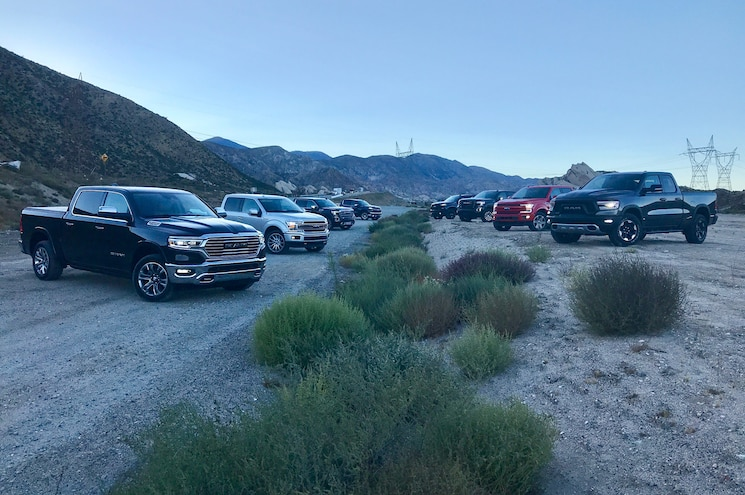 Headlights of the 2019 Pickup Truck of the Year Competition – #PTOTY19