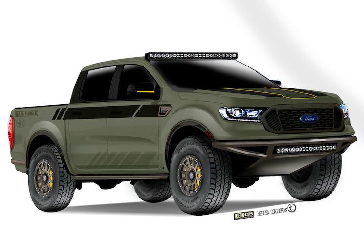 Lge Cts 2019 Ford Ranger Baja Forged Sema