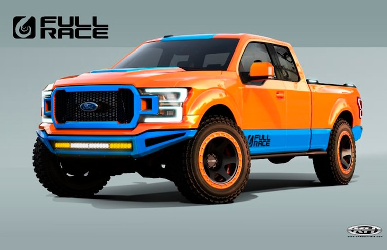 2018 Ford F 150 Full Race SEMA 2018