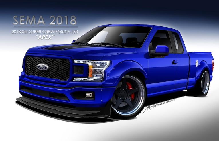 #MTSEMA18 - Ford to Debut Seven Custom F-Series Builds at SEMA 2018