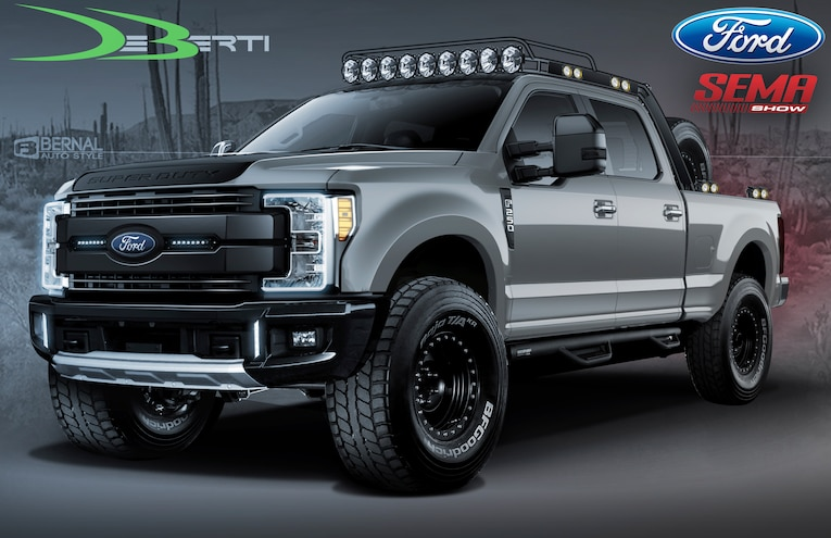 2019 Ford Super Duty DeBerti SEMA 2018