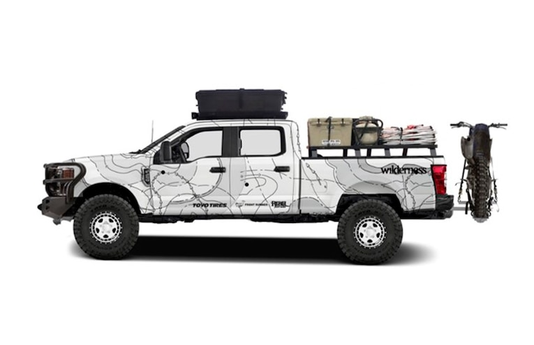 2019 Ford SuperDuty Wilderness SEMA 2018