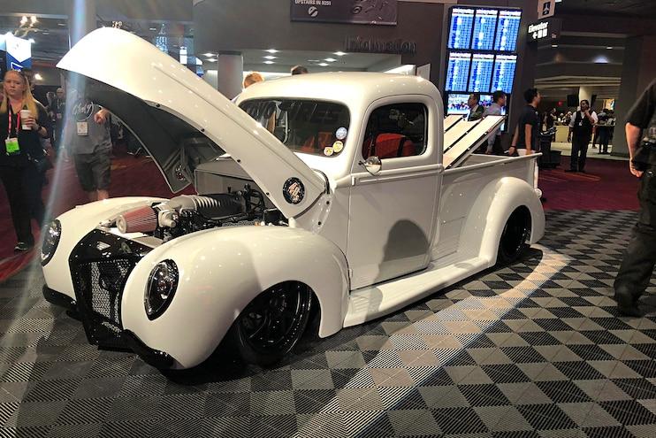 #MTSEMA18: Toyo Tires Top Build Award Winner: Immaculate 1940 Ford
