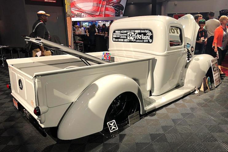 1940 Ford 40 Shades Gray Toyo Top Build Sema 2018 3 4 Rear