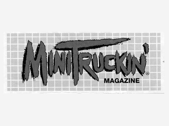 letters To The Editor August 2002 mini Truckin Sticker