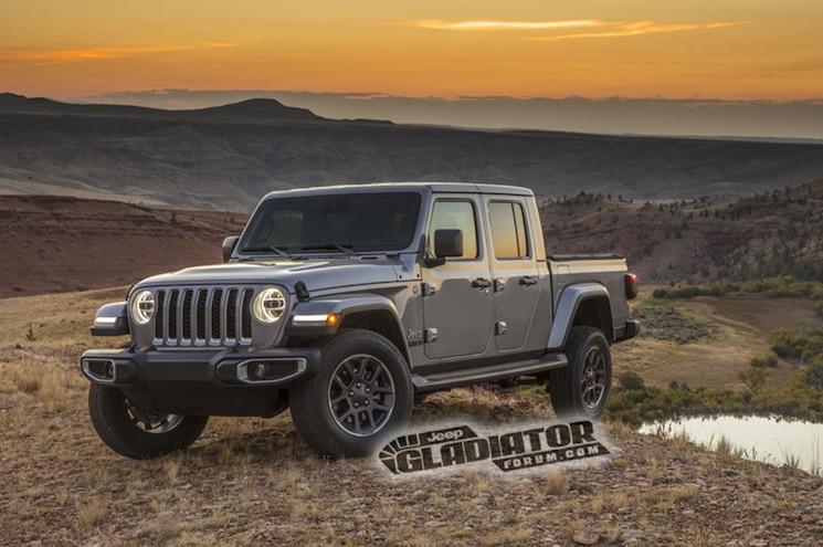 2020 Jeep Gladiator Jt Sahara Front Quarter 01