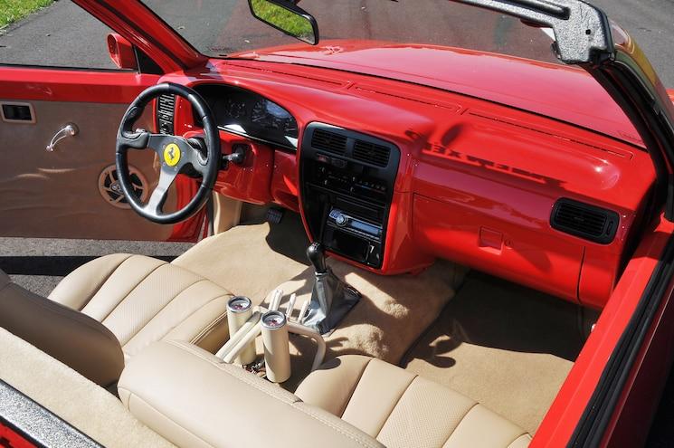 1995 Nissan Hardbody D21 California Interior