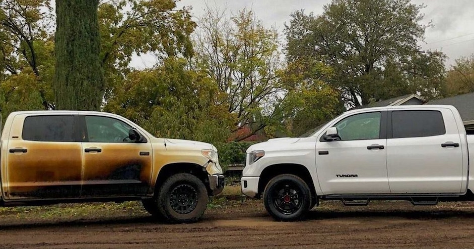 Toyota Keeps Promise to Deliver New Tundra to Nurse