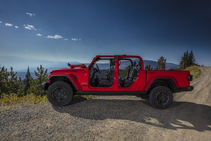 Jeep Gladiator Pickup 13