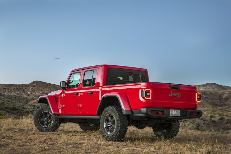 Jeep Gladiator Pickup 09