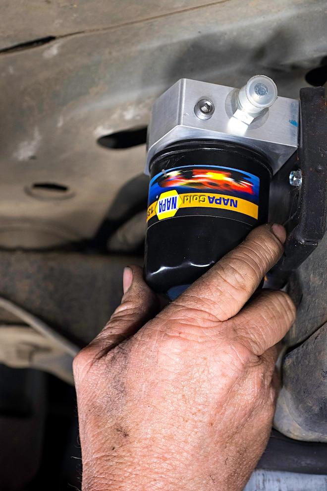 Custom Oil Cooler Cures Hot G56 Transmissions
