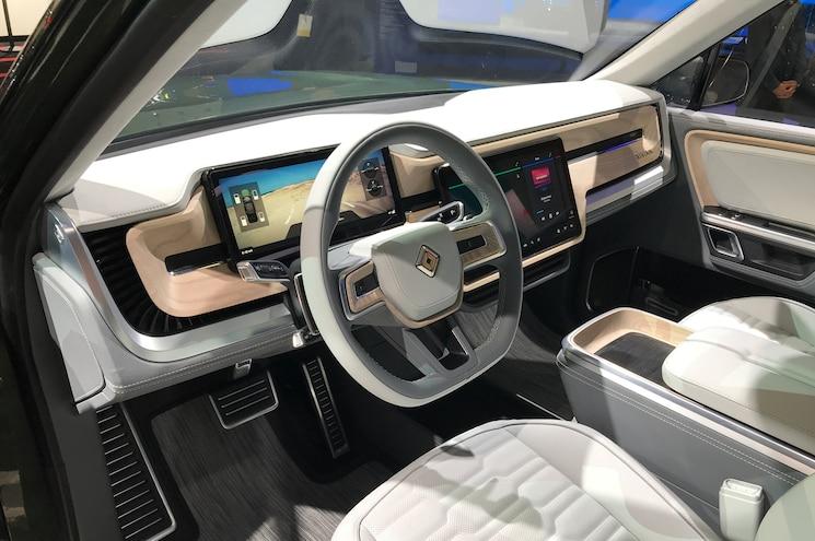 2021 Rivian R1s Interior Front Cabin