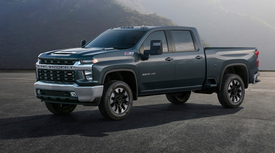 2020 Chevrolet Silverado HD: Allison 10-Speed & Official Photos