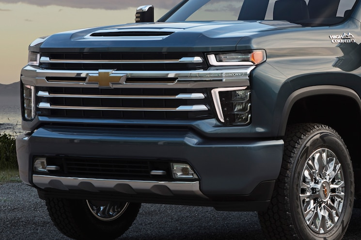 2020 Chevrolet Silverado 2500hd High Country Front End Closeup