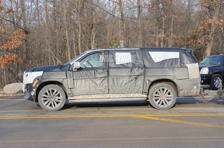 Spied 2020 Cadillac Escalade And Escalade Esv