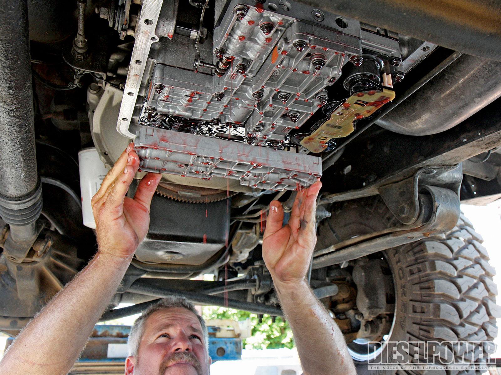 E4OD Hard Shift Transmission Repair - Automatic Transmission
